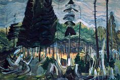 Forest Clearing, Langford Emily Carr 1939