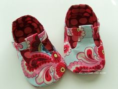 Jordan Baby T-Strap Shoes PDF Pattern