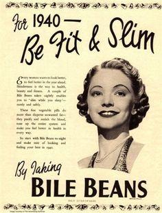 Bile beans, 1940