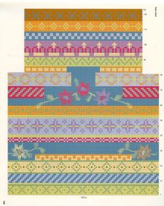 VK is the largest European social network with more than 100 million active users. Fair Isle Knitting Patterns, Knitting Stiches, Knitting Charts, Crochet Stitches, Hand Knitting, Quirky Diy Crafts, Motif Fair Isle, Swedish Embroidery, Scandinavian Pattern