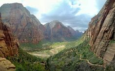 Zion National Park [1024x641] OC