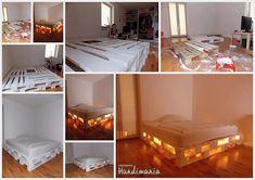 DIY_棧板改造床架