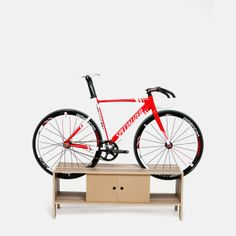 Hanging Kayak Storage These Stylish Bike Stands Are A Lifesaver For Tiny Apartments. Killer look. - Killer look. Hanging Bike Rack, Bike Hanger, Indoor Bike Storage, Bicycle Storage, Bike Storage Apartment, Kayak Storage Rack, Range Velo, Man Shed, Bike Mount