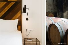 Surprising new boutique hotel dedicated to the world of wine: the city of Barcelona's relationship with wine is as old as its history and culture. hotelpraktikvinoteca,com