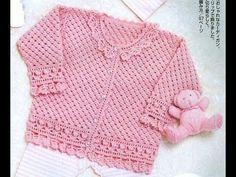 Crochet Patterns  for free  crochet baby sweater  1548