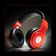 Pop Monster Headphones Beats By Dr Dre Pro Color Red Black with Diamond on Sale - beats pro diamonds Cheap Beats Headphones, Headphones For Sale, Dre Headphones, White Headphones, Over Ear Headphones, Beats Audio, Music Beats, Monster Headphones, Urban Dance