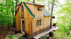 Cool! Dit super idyllische huisje werd in 6 weken gebouwd