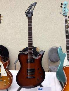 Gitarre von deutschem Gitarrenbauer Jörg Tandler.
