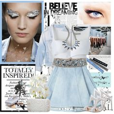 How To Wear denim spring ) Outfit Idea 2017 - Fashion Trends Ready To Wear For Plus Size, Curvy Women Over 20, 30, 40, 50