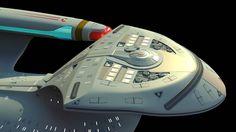 Drive Section of U.S.S. Enterprise NCC-1701 D