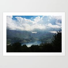 Lake between the Mountains - $13