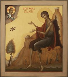Understanding freedom of expression within Tradition in the creative act of iconography. The Orthodox non-liturgical artist's dilemma as he faces Tradition. Byzantine Art, Byzantine Icons, St Mary Of Egypt, Orthodox Catholic, Lives Of The Saints, Roman Church, Religious Paintings, Best Icons, Religious Icons