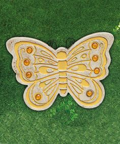 Loving this Butterfly Stepping Stone on #zulily! #zulilyfinds