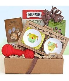 Gift Baskets - Pin it :-) Follow us, CLICK IMAGE TWICE for Pricing and Info . SEE A LARGER SELECTION of gift baskets at http://azgiftideas.com/product-category/gift-baskets/ - gift ideas , gift set - I Love Dogs! Gift Basket