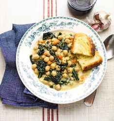 Zuppa Toscana, Vegan Soup, Fett, Cheeseburger Chowder, Camembert Cheese, Meal Prep, Vegan Recipes, Curry, Food And Drink