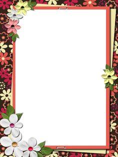 Boarder Designs, Frame Border Design, Page Borders Design, Photo Frame Design, Flower Background Design, Background Design Vector, Flower Backgrounds, Flower Wallpaper, Boarders And Frames