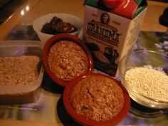 Muffins au quinoa, mélasse et dattes Muffins Au Quinoa, Scones, Food To Make, Grains, Rice, Pudding, Beef, Healthy Recipes, Breakfast