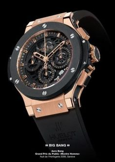 HUBLOT AERO BANG, Hublot Timepieces and Luxury Watches on Presentwatch by dionne