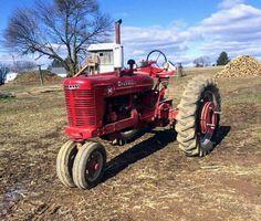 International Tractors, International Harvester, Farming, Red