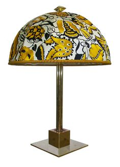 Table lamp by Dagobert Peche, 1915