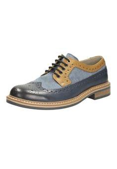 Clarks - DARBY LIMIT - Smart lace-ups - blue