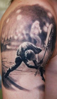 Tattoo Artist - Den Yakovlev - music tattoo  this is AMAZING. i want him^^ to do my tatoo