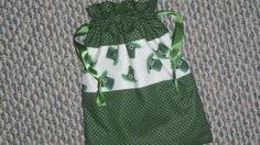 St. Patrick's  String bag/ Personalized bag/ Girls by KidsAtelier, $15.50