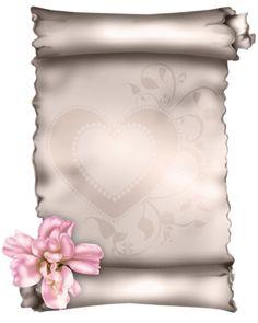 Parchemin fleur paper note  papier à lettre !