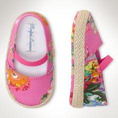Bowman Espadrille - Baby Girl Baby Shoes - RalphLauren.com