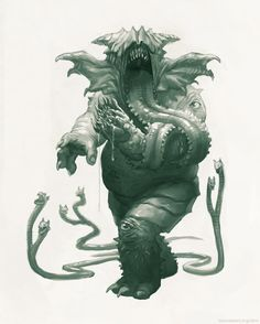 Creature Spot - The Spot for Creature Art, Artists and Fans - Lovecraft Lovecraft Cthulhu, Hp Lovecraft, Yog Sothoth, Lovecraftian Horror, Creepy Monster, Eldritch Horror, Horror Monsters, Monster Design, Animation