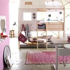 My Dad was always going to build me something like this, perhaps he'll make it for his granddaughter.... someday. :)