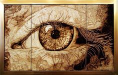 Pyrographic Art Brazil | Pirografia de Juan Carlos Gonzalez
