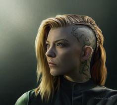 Cressida (Hunger Games: Mockingjay) by ThreshTheSky.deviantart.com on @DeviantArt
