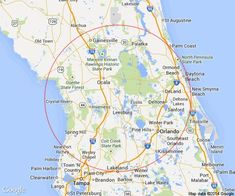 Map Of Florida Showing Cities.Northeast Florida Road Map Showing Main Towns Cities And Highways