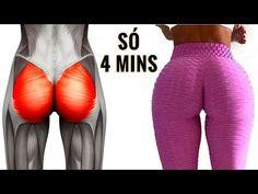 4 MINUTOS PARA AUMENTAR SEU BUMBUM! 7 Exercicios Para Pernas e Gluteos! Como Aumentar Gluteos Rápido - YouTube