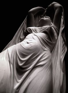 Undine Rising from the Water (detail) c. 1880-82 ~ Chauncey Bradley Ives
