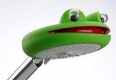 frog shower head for kids bathroom
