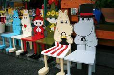 Moomin Chair set