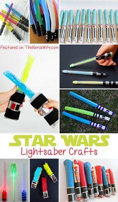 Star Wars Lightsaber Crafts