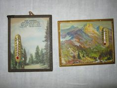 Your place to buy and sell all things handmade Vintage Decor, Vintage Items, Advertising Pictures, Colorful Mountains, Chuck Wagon, 1940s, Decorating Ideas, Scene, Interiors