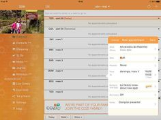 "App ""Cozi Family Organizer"" no iPad"