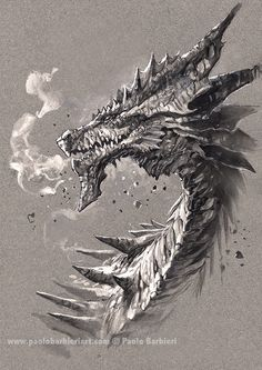 Dragon 3 - Paolo Barbieri Art