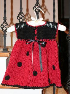 Back Lady Bug Dress by Violet-rose, via Flickr