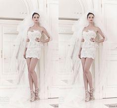 Wholesale Wedding Dresses 2014 - Buy Stunning 2014 Elegant Sheer Garden Zuhair  $129.0 | DHgate