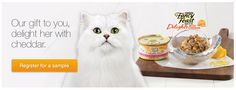 FACEBOOK FREEBIE $$ Reminder: FREE Sample of Fancy Feast Cat Food – Still Available!