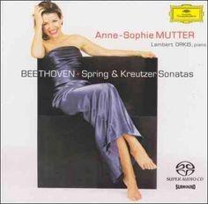 Annie-Sophie Mutter - Beethoven:Spring and Kreutzer Sonatas