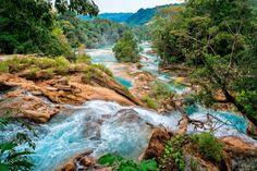 Agua Azul in Chiapas, Mexico ✯ ωнιмѕу ѕαη∂у