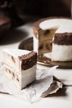 chocolate chip cookie layer cake | chasing delicious
