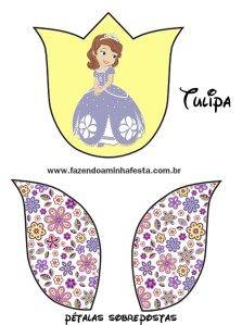 tulipa Princesinha Sofia da Disney