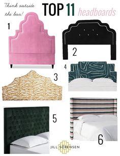 My Top 10 headboards for the anti minimalist | Jill Sorensen | Lifestyle Brand & Interior Designer